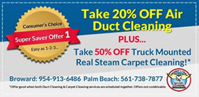 Air Duct Cleaning Carpet Cleaning Combo