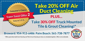 Air Duct Cleaning Tile and Grout Combo
